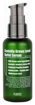 Сыворотка для лица PURITO Centella Green Level Buffet Serum 60 мл