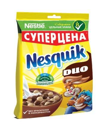 Готовый завтрак Nesquik duo шоколадный 250 г