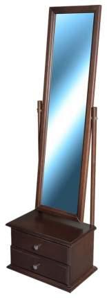 Зеркало напольное Мебелик 345 46х150 см, венге