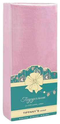 Простыня TIFFANY'S secret розовый 145х220 см