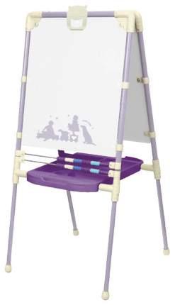 Мольберт для рисования Nika Kids в стиле ретро М2Р/3 фиолетовый