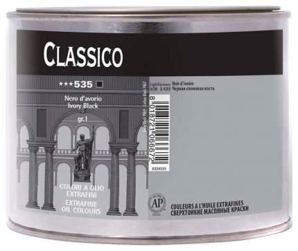 Масляная краска Maimeri Classico черный слоновая кость 500 мл
