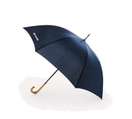 Зонт-трость с лого hyundai Hyundai-Kia R8480AC592H ручка -дерево r138 см синий