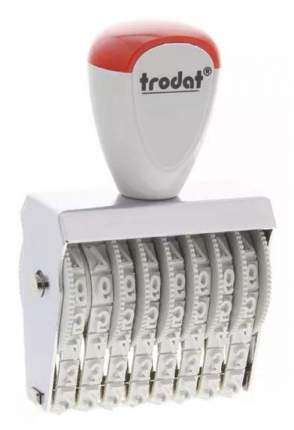 Нумератор ленточный Trodat Classic Line 15128. 8 разрядов. Высота шрифта: 12 мм