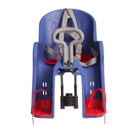 Велокресло детское BQ-10 (быстросъёмное крепление за подседельную трубу рамы), Синий