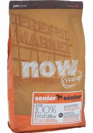 Сухой корм для собак NOW Fresh Senior, контроль веса, индейка, утка, овощи, 2,72кг
