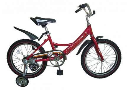 Детский двухколесный велосипед Jaguar MS-A182 красный