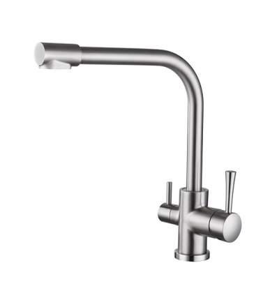 Смеситель для кухни Kaiser Merkur 26044-5 с подключением к фильтру Silver