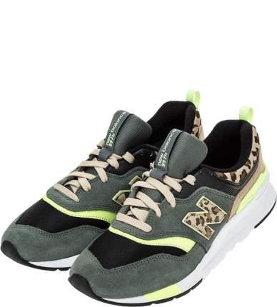 Кроссовки женские New Balance CW997HAS/B черные/хаки/зеленые/бежевые/коричневые 8.5 US