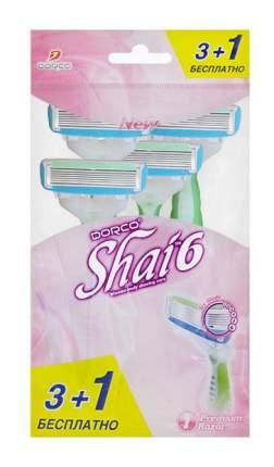 """Станок для бритья Dorco """"Vanilla"""" 4 шт"""