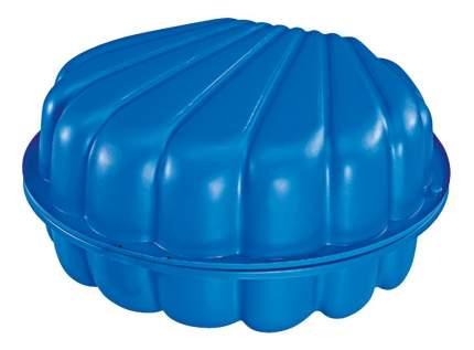 Песочница ракушка (2 части) синяя big sand, 180x87x20 см, 1/5