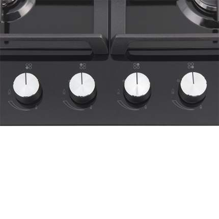 Встраиваемая варочная панель газовая Samsung NA64H3000AK Black
