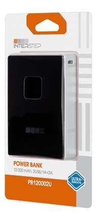 Внешний аккумулятор InterStep PB120002U 12000 мА/ч (IS-AK-PB12002UB-000B201) Black