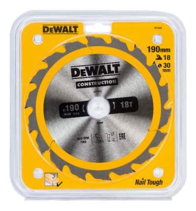Пильный диск по дереву  DeWALT DT1943-QZ