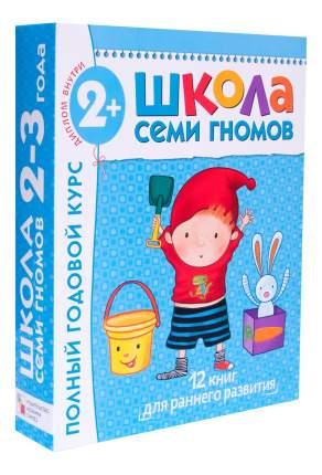 Полный курс занятий с детьми 2-3 года Мозаика-Синтез в подарочной упаковке