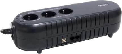 Источник бесперебойного питания Powercom WOW WOW-700U Black