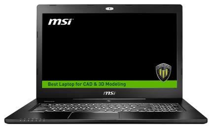 Ноутбук MSI WS72 6QJ-200RU 9S7-177625-200