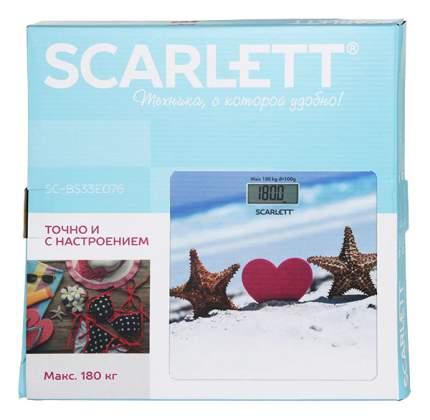 Весы напольные Scarlett SC-BS33E076 Голубой, розовый
