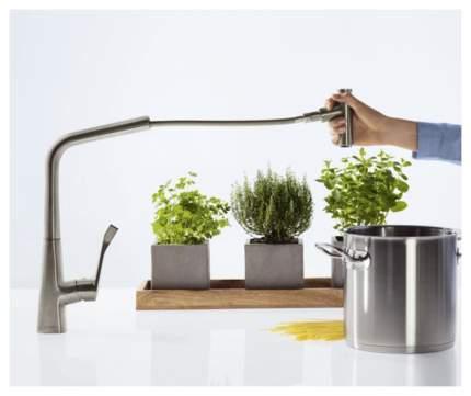 Смеситель для кухонной мойки Hansgrohe Metris Select 14884800 хром