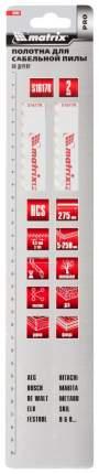 Полотно пильное для сабельных пил MATRIX S1617K 275 8,5 мм HCS 2 шт 782007