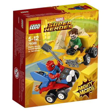 Конструктор LEGO Super Heroes Mighty Micros Человек-паук против Песочного человека (76089)