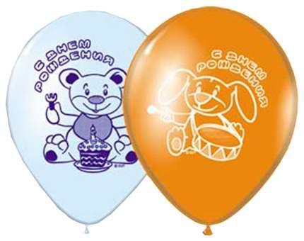 Набор шаров BelBal Шар с рисунком 10 с днем рождения цирк 1103-0462