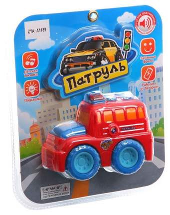 Машинка пластиковая Zhorya Патруль ZYA-A1189