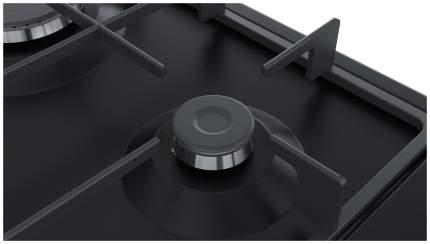 Встраиваемая варочная панель газовая Bosch PGH6B6B90R Black