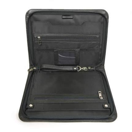 Папка для документов кожаная Pellecon 102-109 черная
