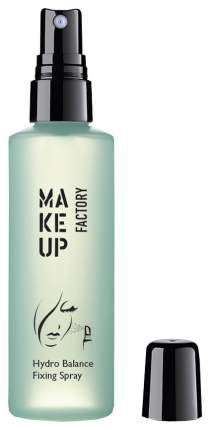 Фиксатор макияжа Make Up Factory Hydro Balance Fixing Spray 100 мл Прозрачный