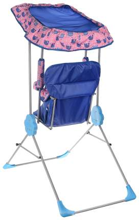 Качалка детская Фея Малыш с тентом фиолетовый 0004289-7