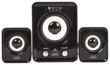 Колонки компьютерные 2.1 CBR CMS 725 Black