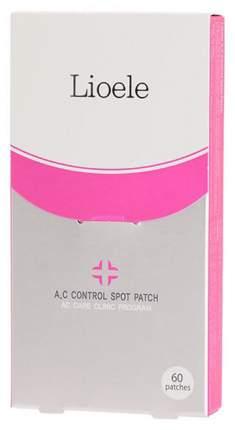 Патчи для очищения кожи Lioele A.C Control Spot Patch Set 12x5 шт