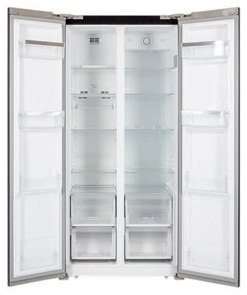 Холодильник Hiberg RFS-480DX NFB Black