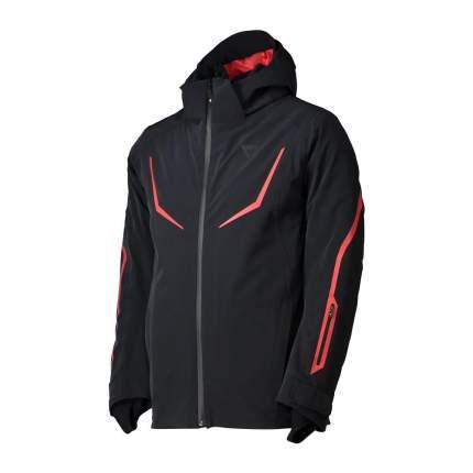 Спортивная куртка мужская Dainese HP2 M2, stretch limo/high risk red, L