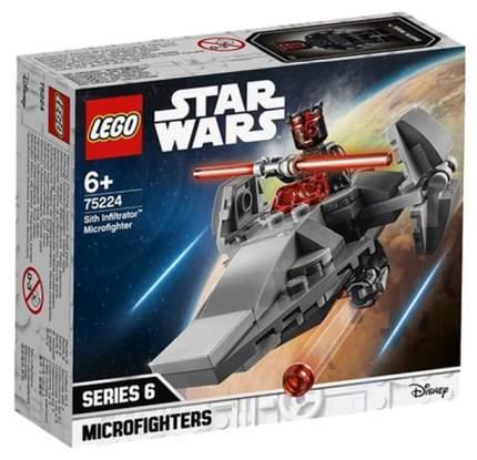 Конструктор LEGO Star Wars 75224 Микрофайтеры: Корабль-лазутчик ситхов