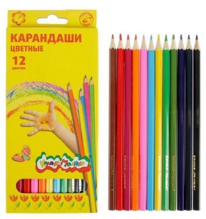 Набор цветных карандашей Каляка-Маляка Радуга 12 цветов