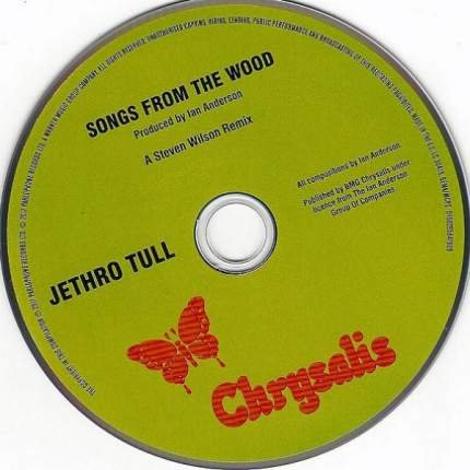 """Jethro Tull """"Songs From The Wood (40th Anniversary Edition)"""" CD"""