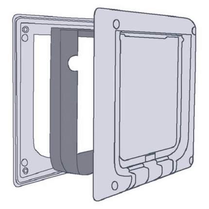 Элемент туннеля для двери TRIXIE FreeCat de Luxe 3867, белый, 19,3х20см