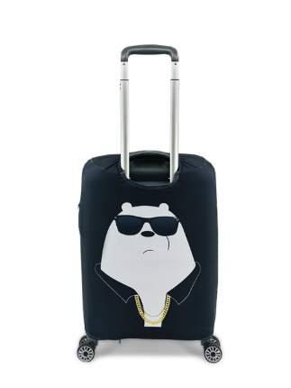 Чехол для чемодана Мишка бандит S (ручная кладь)