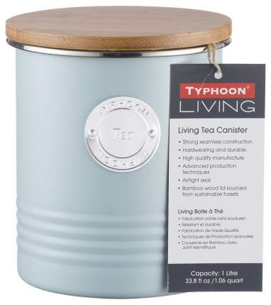 Емкость для хранения чая Living голубая 1 л