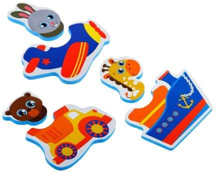 Игрушка для купания Крошка Я Транспорт 2920283 6 шт