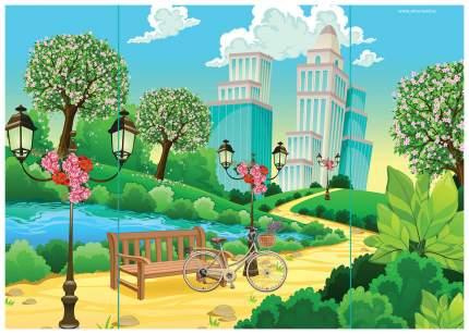 Магнитная игра «Одень куклу: времена года» Happy Valley