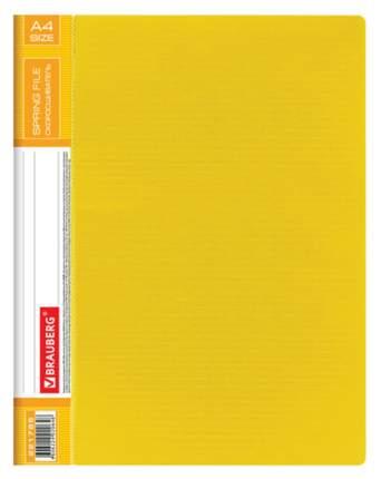 Папка-скоросшиватель Brauberg Contract 221785 Желтая