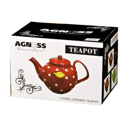 Заварочный чайник Agness Noni 1200 мл