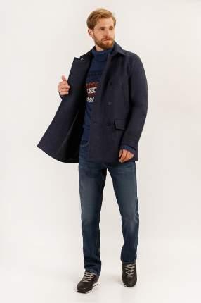 Пальто мужское Finn Flare A19-42004 синее L