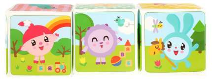 Набор кубиков для ванны Умка Малышарики 3 кубика