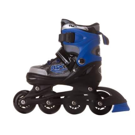 Раздвижные роликовые коньки RGX Braman Blue S, размер 30-33