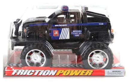 Инерционная машинка Shantou Gepai friction power джип милиция 688-2