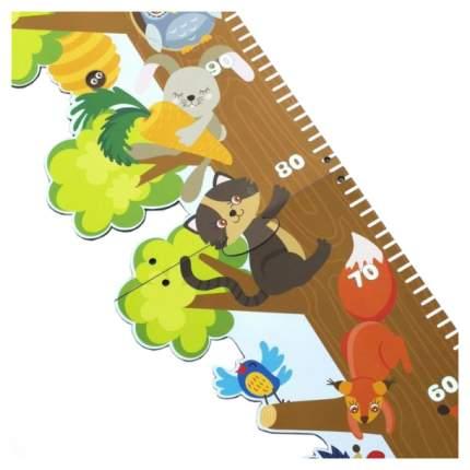 Ростомер деревянный WoodLand Однажды в лесу